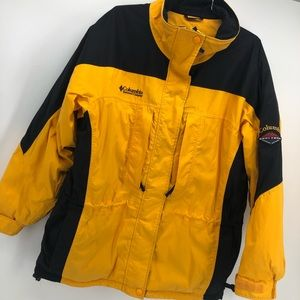 COLUMBIA- Vintage Yellow Pullover Jacket